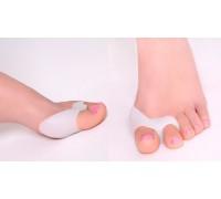 Силиконовые протекторы для 1-го и 2-го пальцев стопы (пара)